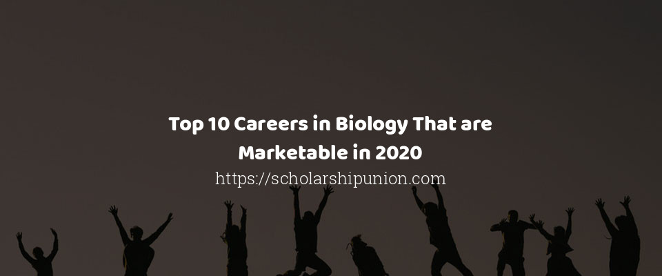 Top 10 Careers in Biology That are Marketable in 2020