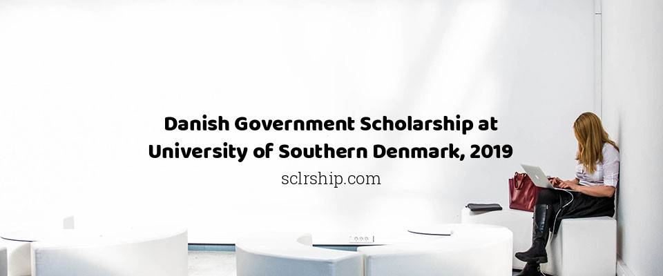 Danish Government Scholarship at University of Southern Denmark, 2019