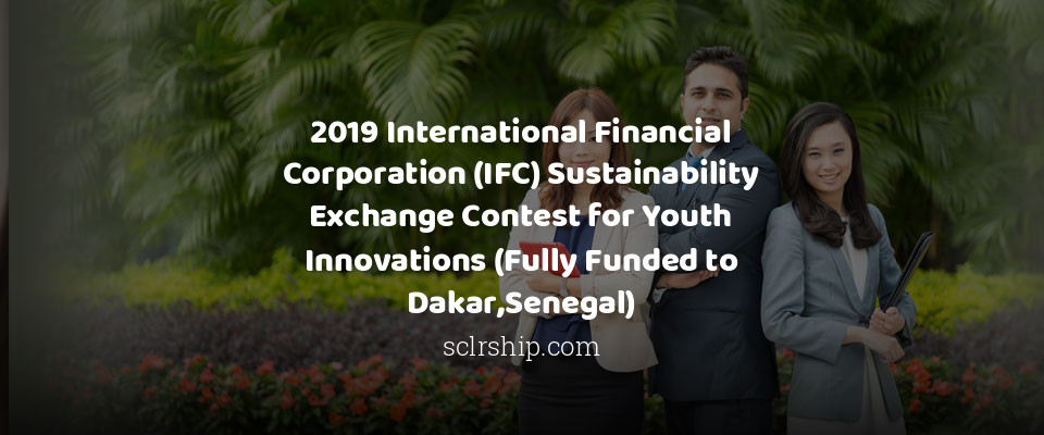 2019 International Financial Corporation (IFC) Sustainability