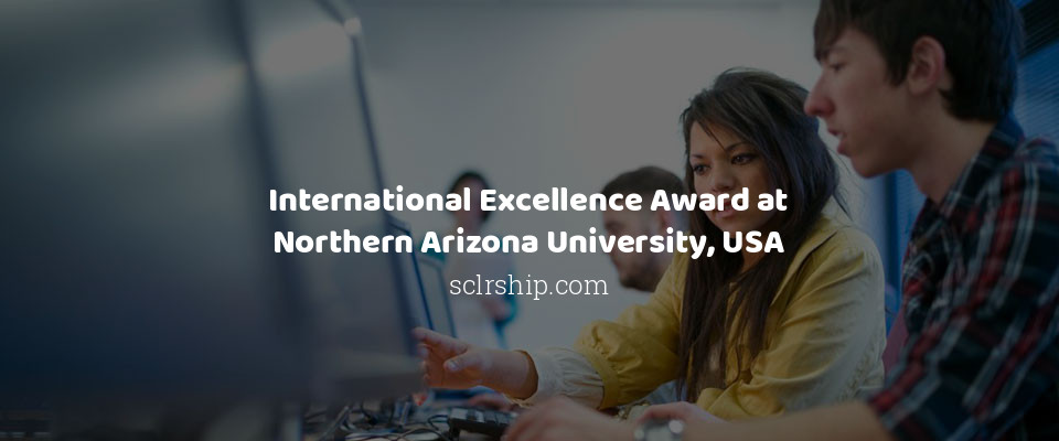 International Excellence Award at Northern Arizona University in USA