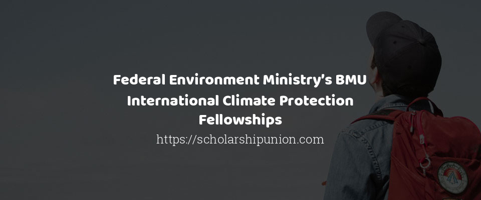 Federal Environment Ministry's BMU International Climate Protection Fellowships